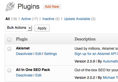 Seven Recommended WordPress Plug-Ins - BookPromotion . com