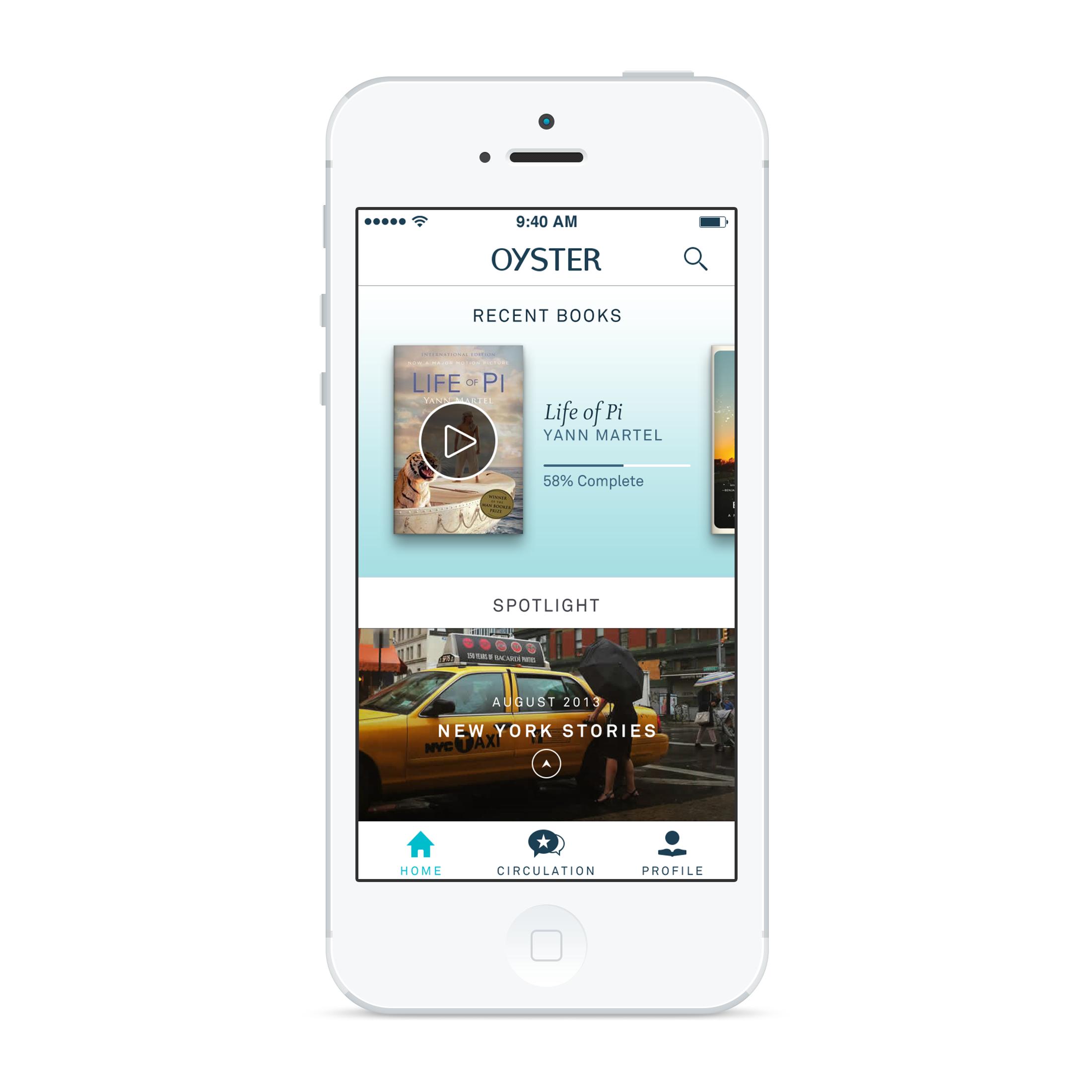 Oyster App - BookPromotion.com